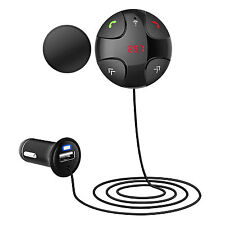 Handsfree Magnetic Bluetooth Tf Mp3 Player Usb Car Charger Fm Radio Transmitter