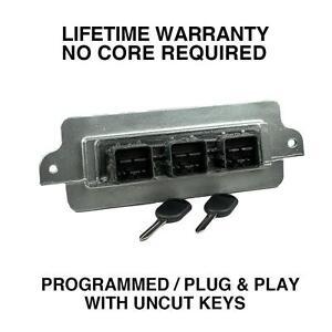 Engine Computer Programmed Plug&Play with Keys 2005 Ford Maverick 5L8A-12A650-PE