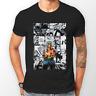 Zoro One Piece Manga Strip Anime Pirate Unisex Tshirt T-Shirt Tee ALL SIZES