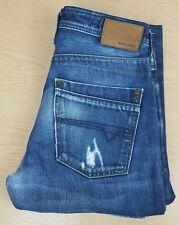 Diesel Timmen Regular-Straight Fit Jeans Laver 008YM W30 L32 Braguette Boutonnée
