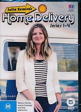 Julia Zemira's Home Delivery Series 1 - 4 One to Four DVD NEW Region 4