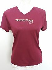 Under Armour Virginia Tech Shirt Small Athletic Hokies T-Shirt Short Sleeves EUC
