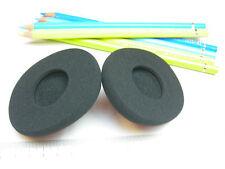 2 Schaumstoff Ohrpolster für Logitech Wireless Headset H800 75x65 mm H 800