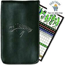 Callaway Golf Leather Scorecard Holder.