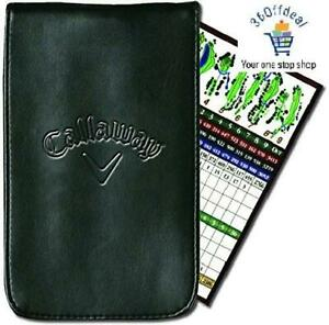 Callaway Golf Leather Scorecard Holder.