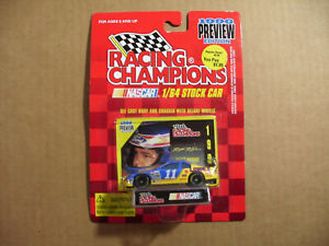 Brett Bodine #11 1996 Racing Champions Preview Edition Lowe's 1/64 Scale