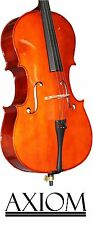 Axiom Beginners Cello Outfit - 3/4 Size Student Cello - Ideal First Cello