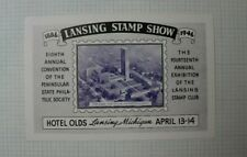 8th Annual Ps Ps Convention 14th Annual Expo Lansing Stamp Club Souvenir Ad