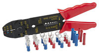 PITTSBURGH 63307 - 8 In Four Way Wire Crimper / Stripper Hand Tool