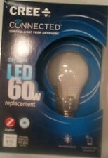 Cree Connected Alexa 60W Daylight (5000K) A19 Dimmable LED Light Bulb (6 Pack)