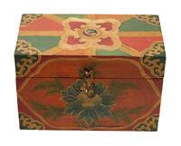 Scatola A Ciondolo Tibetano -17x12cm Artigianato Cofanetto Tibetano 3489 GT2