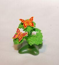 PLAYMOBIL DECOR - plante - arbuste + 2 papillons