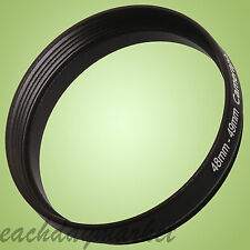 48mm to 49mm 48-49 48-49mm 48mm-49mm Stepping Step Up Lens Filter Ring Adapter
