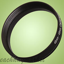 48mm to 49mm 48-49 48-49mm 48mm-49mm Stepping Step Up Filter Ring Adapter