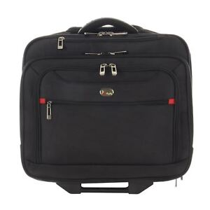 Executive Wheeled Laptop Computer Business Travel Trolley Suitcase Luggage Case