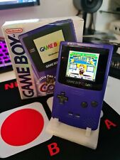 Boxed And Complete Gameboy Color With Fullsize Funny Playing IPS Screen