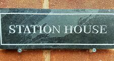 Custom slate sign quality deep engraved  for your house