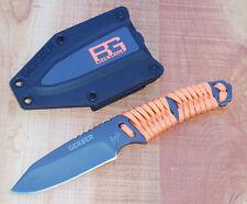 GERBER BEAR GRYLLS PARACORD FIXED BLADE SURVIVAL KNIFE w SHEATH 31-001683 NEW