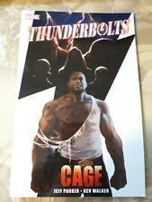 Thunderbolts Cage TPB #1 1ST print VF+ 2011 MARVELCOMICS Parker Walker