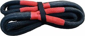 22mm x 9m Kinetic Rope 18700LBS Recovery Dyneema Tow Bubba Winch