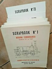 SERIE COMPLETE des 73 fascicules des SCRAPBOOKS du MUSEON di RODO - Etat neuf