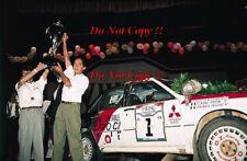 Patrick Tauziac Mitsubishi Galant VR-4 Ivory Coast Rally 1990 Photograph 1