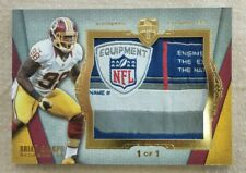 2012 Topps Supreme Football Brian Orakpo NFL Laundry Tag Relic Card #1/1.