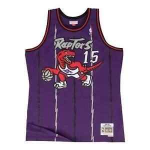 Mitchell & Ness Purple NBA Toronto Raptors #15 Vince Carter 1998-99 Road
