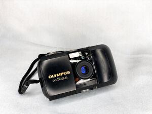 Rare Olympus Stylus Mju 35mm Point & Shoot Prime Film Camera Quartz Date Tested!
