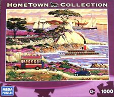 HOMETOWN COLLECTION Lone Cypress 1000 Piece Puzzle, New, Free Shipping