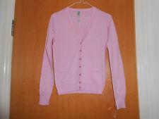 Lovely Ladies Benetton Pink cardigan, BNWT, XS