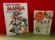 ANIME MANGA LOT AZU MANGA DAIOH COMPLETE DVD MECH HOW TO DRAWING BOOK YAMAKAMI