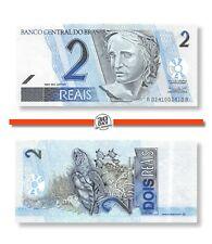 Brazil 2 Reals 2001 (2001) Unc Pn 249a - Banknote24