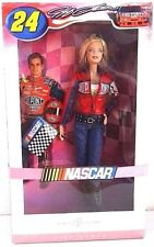BARBIE NASCAR JEFF GORDON NRFB - PINK LABEL model muse doll collection Mattel