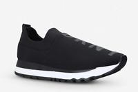 DKNY Jadyn Neoprene Trainers shoes ladies runner style black RRP £100 All Sizes