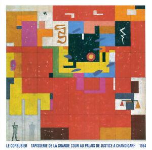 Plakat -  Le Corbusier - Wandteppich für Chandigarh / 1954