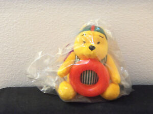 McDonalds fast food toy- MIP plush large Winnie the Pooh summer toy