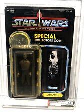 AFA 85 Kenner 1985 Star Wars Han Solo Carbonite POTF 92-back Y-NM+ (80-85-90)