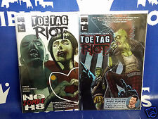 Toe Tag Riot #1 Cover A & B 1st Prints Black Mask Comics NM- 2014