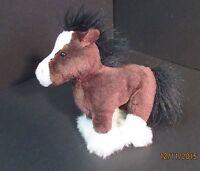 Ganz Webkinz HM139 Clydesdale Horse Stuffed Plush No Code