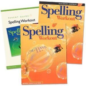 Spelling Workout Homeschool Bundle, Level D (Teacher & Student ed.) GR 4 kit