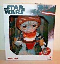 """Target Exclusive Star Wars Talking BABU FRIK Plush 9"""" Mattel IN HAND Free Ship"""