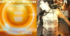 Zumba Fitness 2 DVD Super Cardio Dance Party & Quick Start 20 Minute Express