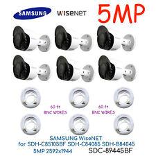 SDC-89445BF -6X SAMSUNG SDH-C85105BF SDH-C84085BF SDH-B84045BF Wisenet 5MP 1944p