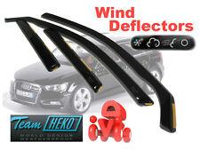 Audi A3 S3 2003 - 2011 Sportback Wind deflectors 4.pcs HEKO  10221