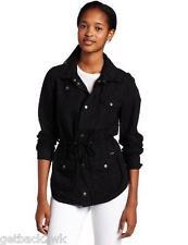 NEW* VOLCOM L COAT SHIRT JACKET TOP $70 Retail BLACK Day Dreamer L/S