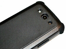 Black Heavy Duty TPU Hard Case Cover for Samsung Galaxy S3 i9300 i9305 LTE 4G