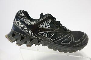 REEBOK Zigtech Black Sz 10.5 Men Running Shoes