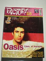 FACTORY Nº 16 Oasis TEENAGE FANCLUB Eric Matthews ASTRUD Wire POP ROCK MAG