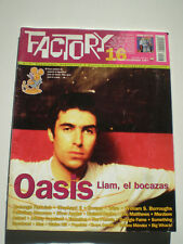 FACTORY Nº 16 Oasis TEENAGE FANCLUB Eric Matthews ASTRUD Wire POP ROCK MAG